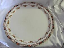 Booths chop platter tray Silicon China England Old Time Imari style 1920's