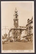 Postcard Colchester Essex the Town Hall posted 1955 RP by Frith