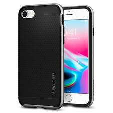 Express iPhone 8 Case Spigen Neo Hybrid Cover for Apple Satin Silver