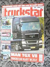 TRUCKSTAR 2007,MAN TGX V8,SKUTSJE,IVECO STRALIS AS440,DAF CF,SCANIA 110,MACK