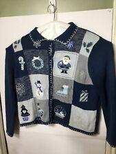 Jason Maxwell Christmas Sweater Women's Size Large  Sweater