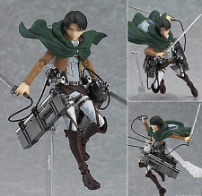 MAX Factory Figma 213 Attack on Titan Levi Action Figure Genuine