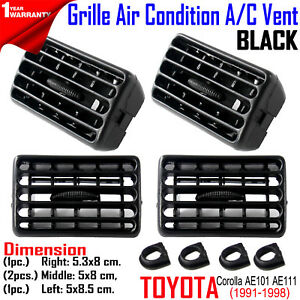 FOR Toyota Corolla AE100 101 AE111 1991-98 Heater Air Grille Interior LH RH MD