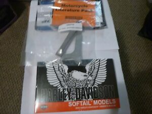 2018 Harley Davidson, Softail, Owners Manual, Literature Pack and Shock Wrenches
