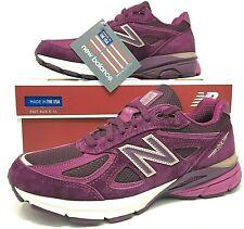 New Balance 990V4-Amora-feminino tênis de corrida-Sz médio-Made In Usa - (W990DM4)