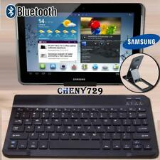 "For 10"" 12"" Samsung Galaxy Tab Tablet Wireless Bluetooth Keyboard + Stand Holder"