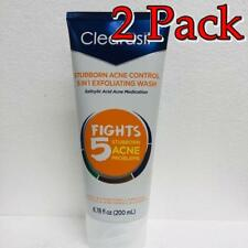 Clearasil Ultra 5-n-1 Exfoliating Wash, 2%, 6.78oz, 2 Pack 839977006285A510