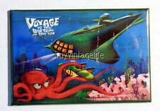 """Vintage VOYAGE TO THE BOTTOM OF THE SEA Lunchbox 2"""" x 3"""" Fridge MAGNET ART"""