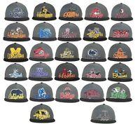NEW NCAA Undergrad Mesh Back Snapback Cap Hat Flat Brim