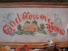 God Bless Our Home Magazine Cross Stitch Pattern (P)
