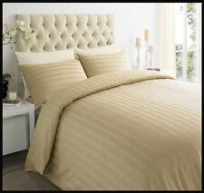 Parures et housses de couette beige pour chambre en 100% coton