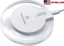 Fantasy QI Wireless Charger Charging Disk Pad For iPhone Android Phone Samsung