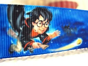 """Boys Harry Potter Ribbon 1"""" (25mm) Wide 1m is only £1.49 NEW UK SELLER"""