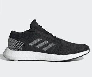 NWT Adidas PureBOOST GO B37803 Black Gray White Running Sneaker Men's 12M