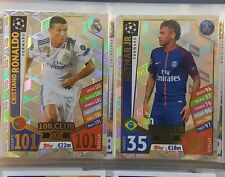 Full set of Match Attax 17 /18 100 Clubs - All 11 cards