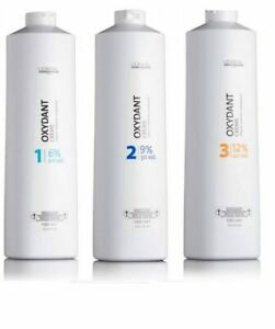 L'Oreal Cream Oxident Peroxide Developer  6% 9% 12%1000ml  Full Range Available