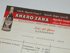 Speisekarte, Albergo Michelotti, Arco, Trentino, ca. 1960