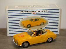 VW Volkswagen Karmann Ghia Convertible 1968 - Dinky DY DDS-3 1:43 in Box *37599