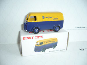 peugeot fourgon ref 25 b  dinky toys Atlas   1/43