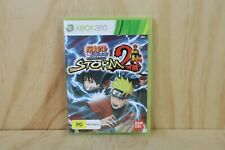Xbox 360 Game - Naruto Shippuden Ultimate Ninja Storm 2 - Box + Disc + Manual