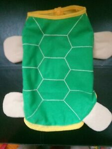 NEW DOG'S DRESSING UP OUTFIT, TURTLE STYLE, SIZE L.