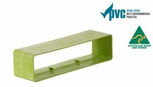 Ecoduct Low Profile PVC Duct Connector/Joiner - 300x70