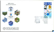 Sri Lanka Stamps 2011, Marie Curie, International Year of Chemistry, FDC