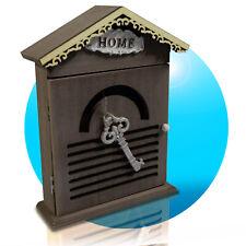 Schlüsselkasten Schlüsselbox Schlüsselschrank Holz Shabby Home Deko Haus 314