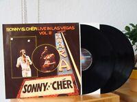 Sonny & Cher LIVE In Lasvegas Vol.2 LP Excellent