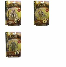 LORD OF THE RINGS HOBBIT 3 FIGURE SET BILBO BAGGINS GRINNAH LEGOLAS NEW LOTR