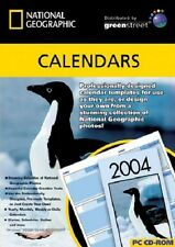 National Geographic: Calendars, PC CD-Rom.