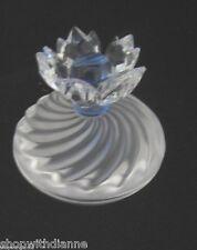 Swarovski Crystal Blue Flower Jewel Box 207886 7464 NR 001 Figurine Retired