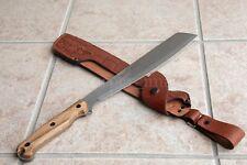 "17.5"" Kizlyar Supreme FULL TANG MACHETE SURVIVAL Knife Combat Premium SheathRARE"