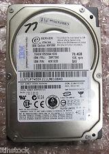 "IBM eServer 73 GB 10K SAS 2.5"" HDD Hot plug Hard Drive, 42K1020, 39R7366"