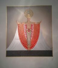 "Erte 1984 ""Indo-China"" Limited Edition Serigraph Signed & Numbered 33/350"