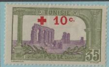 FRENCH TUNISIA B6 MINT HINGED OG * NO FAULTS EXTRA FINE !