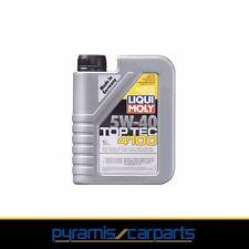 Nuevo 1x liqui Moly top tec 4100 5 w-40 - auto, automóviles aceite del motor - 1 l 3700 (EUR 12,95/l)