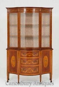 Antique Edwards and Roberts Display Cabinet