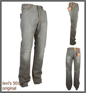 Levis 501 jeans uomo levi's nuovi regular fit dritti original w30 w31 w32 w33