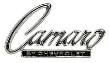 68 69 Camaro by Chevrolet Trunk Lid Header Panel Emblem CHQ