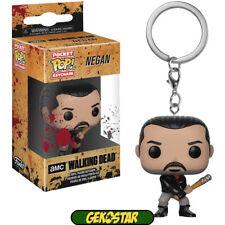 Pop Pocket Keychain The Walking Dead Negan Funko Figure 11895
