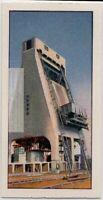 Locomotive Coaling Plant Railroad Hopper Train  Vintage Trade Ad Card