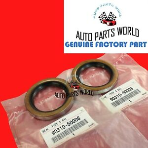 NEW GENUINE OEM TOYOTA 4RUNNER TACOMA TUNDRA T100 REAR AXLE OIL SEAL SET OF 2