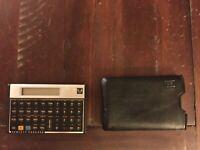 Hewlett Packard HP11C Scientific Calculator with Case/New Batteries!
