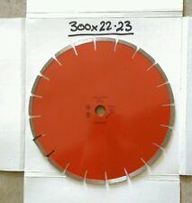 WALTHAM LASER DIAMOND CONCRETE BLADE 300mm x Bore 22.23