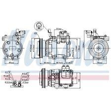 1 Kompressor, Klimaanlage NISSENS 89286 passend für HYUNDAI KIA