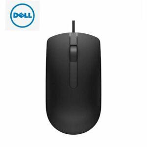 Dell Ms116p Optical USB 1000 DPI Scroll Wheel Mouse - Black