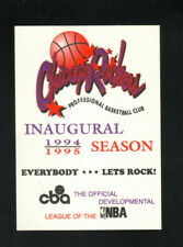 Chicago Rockers--1994-95 Pocket Schedule--CBA