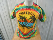 Vintage Jimmy Buffett Songs From Somewhere 2013/14 Tour Date Large Tie-Dye Shirt
