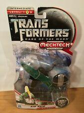 Transformers Mech Tech DARK OF THE MOON AIR RAID JET FIGURE *Deluxe Class* 2011